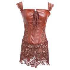 Leather Lace Corset