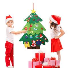 god jul hengende Ikke-vevd stoff Diy Craft Juletre