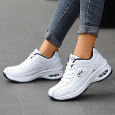 Women's Leatherette Casual Outdoor Athletic shoes