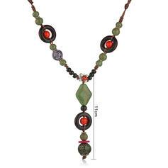 Unique Alloy With Gem Women's Necklaces