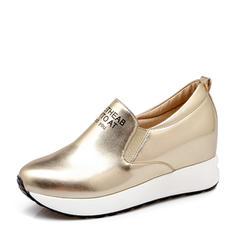 De mujer PU Casual al aire libre con Banda elástica zapatos