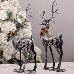 Boże Narodzenie Renifer Ozdoby Żelazo Dekoracje świąteczne
