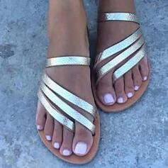 Низька підошва Сандалі взуття на короткій шпильці Тапочки з В'язаний одяг взуття