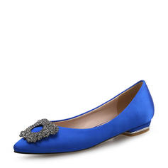 Donna Raso Senza tacco Ballerine Punta chiusa con Strass scarpe