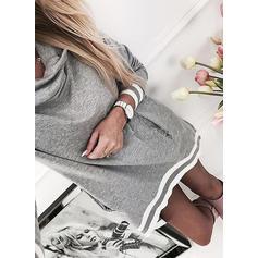 Lange ermer Fremfor Knee Kjoler