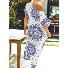 Print Boho Cover-ups Swimsuits