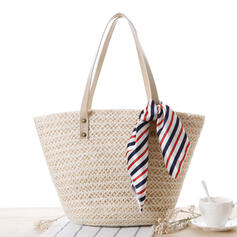 Fashionable/Braided Polyester Tote Bags/Beach Bags
