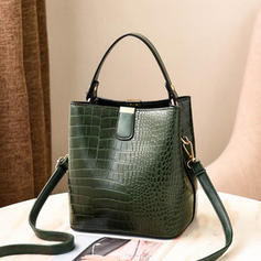 Alligator Pattern Shoulder Bags/Bucket Bags
