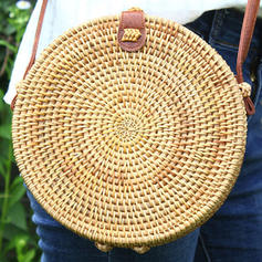 Charming/Vintga Straw Crossbody Bags/Shoulder Bags/Beach Bags