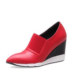 Femmes PU Talon compensé Bout fermé Compensée avec Autres chaussures