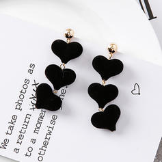 Nice Cloth Alloy Women's Fashion Earrings (Set of 2)