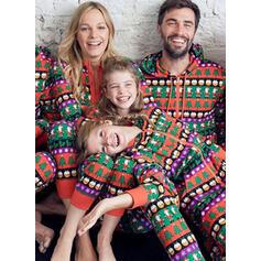 De Kerstman Print Voor Gezinnen Kerst Pyjamas