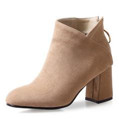 Femmes Suède Talon bottier Escarpins Bottes Bottines avec Autres chaussures