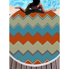 impresión geométrica moda/Boho toalla de playa