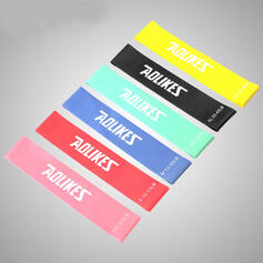 Sports Yoga Multi-functional Emulsion Resistance Band (Set of 6)