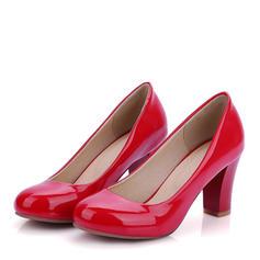 Femmes PU Talon bottier Escarpins Bout fermé chaussures