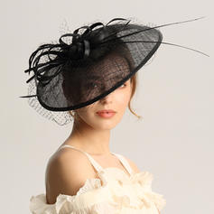 Ladies' Special/Glamourous/Elegant/Unique/Fancy/Romantic/Vintage/Artistic Cambric/Net Yarn Fascinators/Kentucky Derby Hats