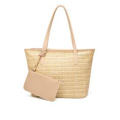 Elegant Straw Tote Bags/Beach Bags