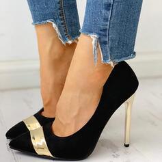 Frauen PU Stöckel Absatz Absatzschuhe Schuhe