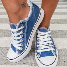 Női Vászon Alkalmi Szabadtéri -Val Lace-up cipő