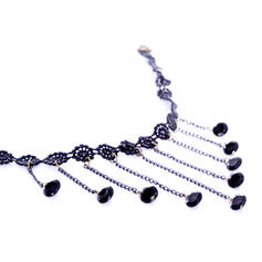 Moda La perla de faux Encaje Señoras' Collar de la manera