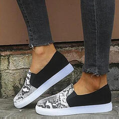 Women's PU Casual Outdoor With Animal Print shoes