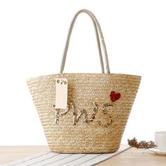 Braided Straw Tote Bags/Beach Bags