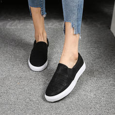 Vrouwen PU Flat Heel Flats met Hol-out schoenen