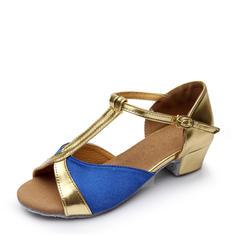 Femmes Latin Chaussures plates Satiné Latin