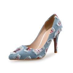 Women's Cloth Stiletto Heel Pumps shoes