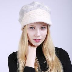 Señoras' Moda/Elegante Madera/Acrílico Boina Sombrero