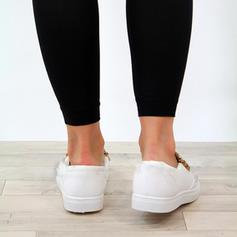 Vrouwen PU Flat Heel Flats met Rits schoenen
