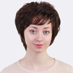 Kudrnatý Mix pravých vlasů Paruky z pravých vlasů 80g