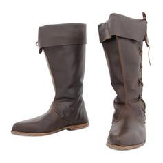 Femmes Similicuir Talon bas Bottes avec Autres chaussures