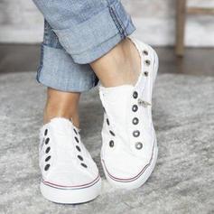 Frauen Baumwollstoff Lässige Kleidung mit Andere Schuhe
