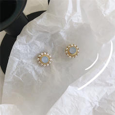 Gorgeous Fashionable Alloy With Cat's Eye Earrings