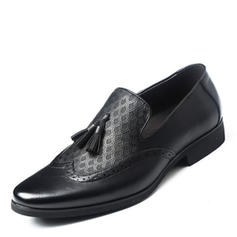 U-Tip Casual Trabajo Cuero Hombres Zapatos Oxford de caballero