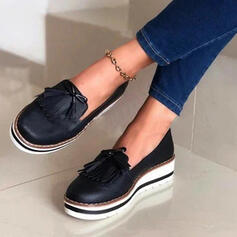 Vrouwen Suede Flat Heel Flats met Tassel Anderen schoenen