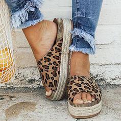 Kvinnor Mocka Kilklack Sandaler Kilar med Andra skor