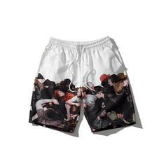 Men's Print Quick Dry Board Shorts