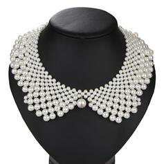 Exquis De faux pearl Colliers