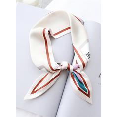 Striped/Retro/Vintage Light Weight/fashion Silk Scarf