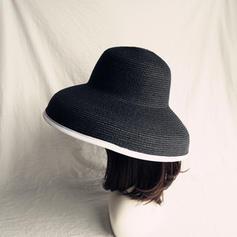 Senhoras Mais quente Palha Salgada/Pp Chapéu de palha/Chapéus praia / sol