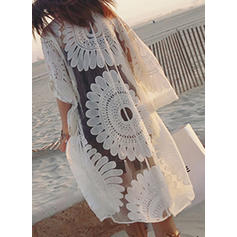 Print Elegant Cover-ups Swimsuits