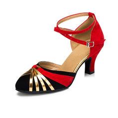 Women's Heels Pumps Ballroom With Buckle Dance Shoes