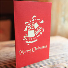 Merry Christmas 3D With Envelope Card Paper Greeting Cards Postcards Invitations