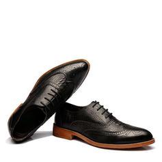 c89b7d415a7e ... Blondér Brogue Pæne sko Microfiber Læder Mænd Oxfords til Herrer ...