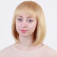 Kinky Rovný Mix pravých vlasů Paruky z pravých vlasů 130g