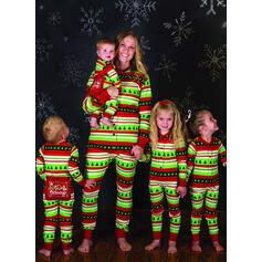 List Wydrukować Rodzinne Dopasowanie Świąteczne piżamy Piżama