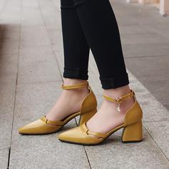 Femmes Similicuir Talon bottier Sandales Escarpins avec Dentelle chaussures